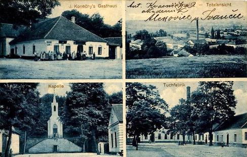 Alexovice na přelomu 19. a 20. stol.