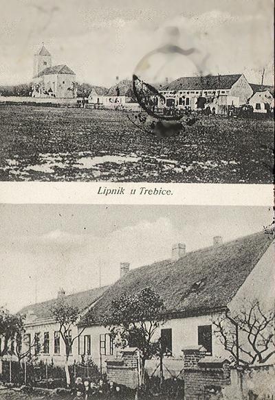 Lipník u Hrotovic v roce 1925