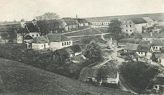 Hluboké Mašůvky kolem roku 1926