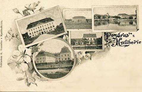 Myslibořice na začátku 20. stol.
