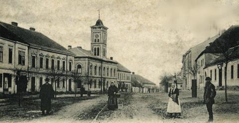 Rosice - náměstí Palackého