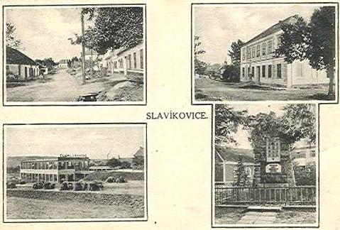 Slavíkovice roku 1930