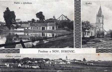 Nové Syrovice roku 1928