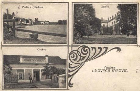 Nové Syrovice roku 1930