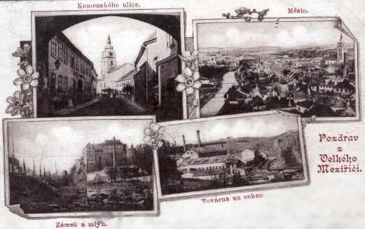 Velké Meziříčí roku 190015